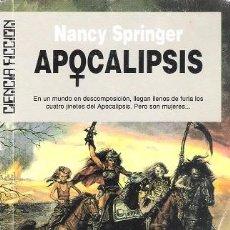 Libros de segunda mano: APOCALIPSIS. NANCY SPRINGER. ULTRAMAR CIENCIA FICCIÓN, Nº 124.. Lote 160405898