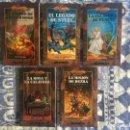 Libros de segunda mano: ¡¡¡DRAGONLANCE. LOTE 5 LIBROS SAGA INTERREGNO. COMPLETA. TIMUN MAS. AÑO 1999 - 2001!!!. Lote 161382614