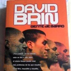 Libros de segunda mano: DAVID BRIN. GENTE DE BARRO.. Lote 161395694