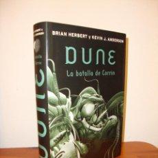 Libros de segunda mano: DUNE. LA BATALLA DE CORRIN - BRIAN HERBERT Y KEVIN J. ANDERSON - PLAZA & JANES - 2007. Lote 161403550