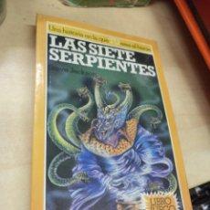 Libros de segunda mano - Altea Junior.Libro juego.Las Siete Serpientes,nº112.Brujos y Guerreros 3.1988 Steve Jackson. - 162386494