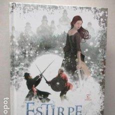 Libros de segunda mano: ESTIRPE SALVAJE , MONTSE DE PAZ - ESPASA 2008 -COMO NUEVO. Lote 162430042