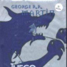 Libros de segunda mano: CANCION DE HIELO Y FUEGO 1 JUEGO DE TRONOS ED.ESPECIAL (T). Lote 162450414