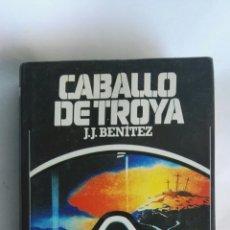 Libros de segunda mano: CABALLO DE TROYA J.J. BENÍTEZ TAPA DURA. Lote 163506076