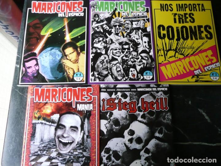 COLECCIÓN 'MARICONES DEL ESPACIO' CON LOS 5 TOMOS PUBLICADOS. MONDO BRUTTO. (Libros de Segunda Mano (posteriores a 1936) - Literatura - Narrativa - Ciencia Ficción y Fantasía)