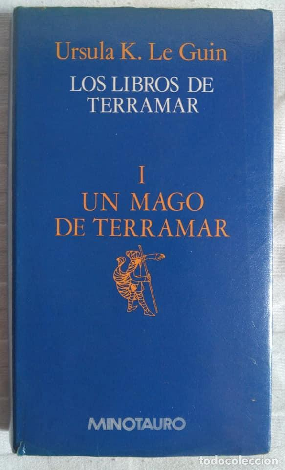 URSULA K. LE GUIN: LOS LIBROS DE TERRAMAR I. UN MAGO DE TERRAMAR (Libros de Segunda Mano (posteriores a 1936) - Literatura - Narrativa - Ciencia Ficción y Fantasía)