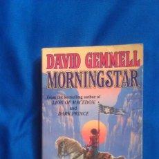 Libros de segunda mano: MORNINGSTAR - DAVID GEMMELL - INGLES. Lote 164937942