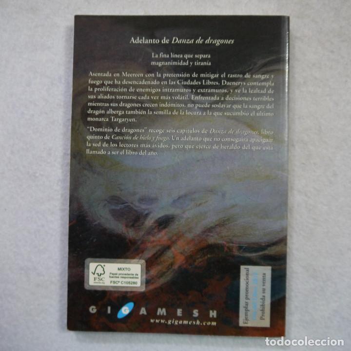 Libros de segunda mano: DOMINIO DE DRAGONES - GEORGE R. R. MARTÍN - EDICIONES GIGAMESH - 2012 - Foto 2 - 165202682