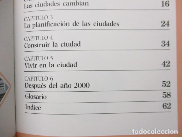 Libros de segunda mano: LAS CIUDADES - ROBERT ROYSTON / ISAAC ASIMOV - TU MUNDO 2000 - EDITORIAL DEBATE, EXCELENTE ESTADO. - Foto 9 - 165274010