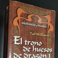 Libros de segunda mano: EL TRONO DE HUESOS DE DRAGÓN 1. Lote 165359917