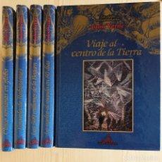Libros de segunda mano: VERNE: 5 TOMOS VIAJES EXTRAORDINARIOS - ILUSTRADOS - EDICIONES RUEDA - VER TÍTULOS EN FOTOS. Lote 165460454