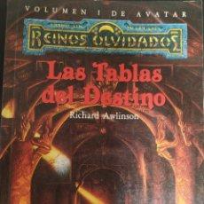 Libros de segunda mano: LAS TABLAS DEL DESTINO. Lote 165671594