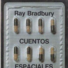 Libros de segunda mano: CUENTOS ESPACIALES Y CUENTOS DEL FUTURO. 2 LIBROS RAY BRADBURY. EDITORIAL LUMEN. Lote 165796062
