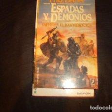 Libros de segunda mano: ESPADAS Y DEMONIOS , FRITZ LEIBER. Lote 166166230