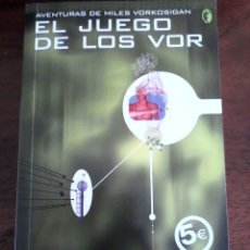 Libros de segunda mano: EL JUEGO DE LOS VOR. LOIS MCMASTER BUJOLD.. Lote 166191678