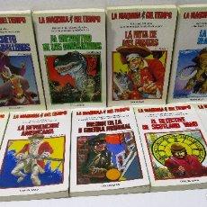 Libros de segunda mano: LA MÁQUINA DEL TIEMPO, LOTE 9 LIBRO JUEGO TIMUN MAS, Nº1-2-4-7-8-10-11-16-18. Lote 87682306