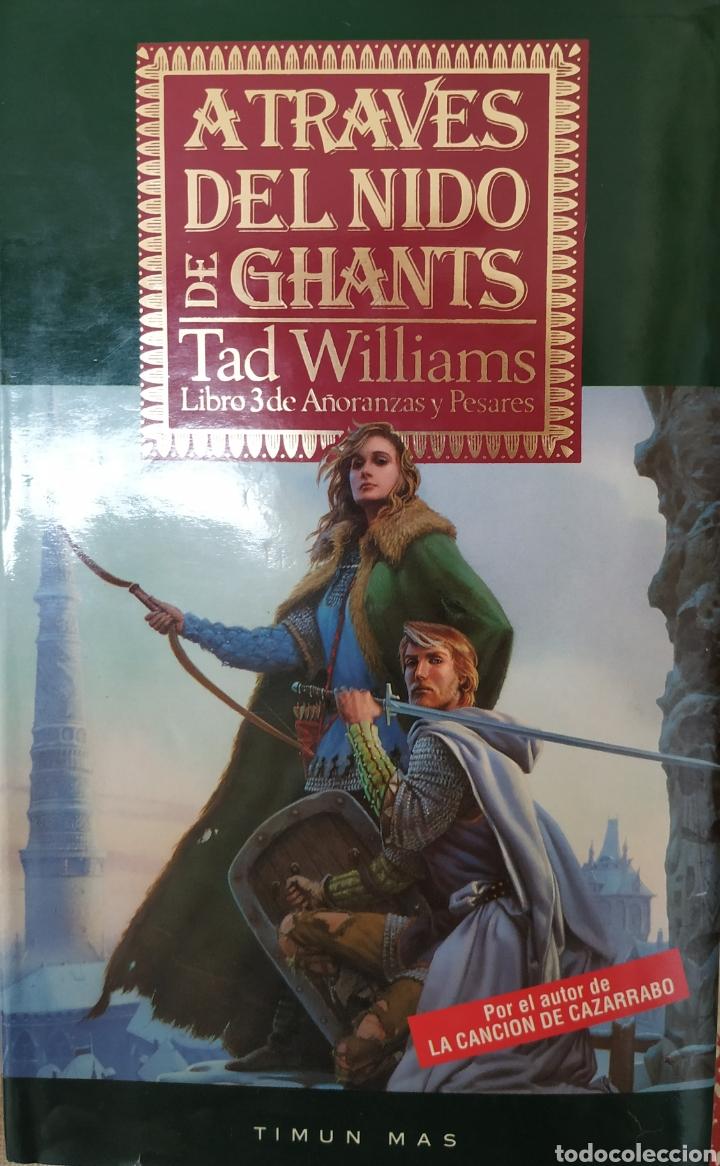 A TRAVÉS DEL NIDO DE GHANTS (Libros de Segunda Mano (posteriores a 1936) - Literatura - Narrativa - Ciencia Ficción y Fantasía)