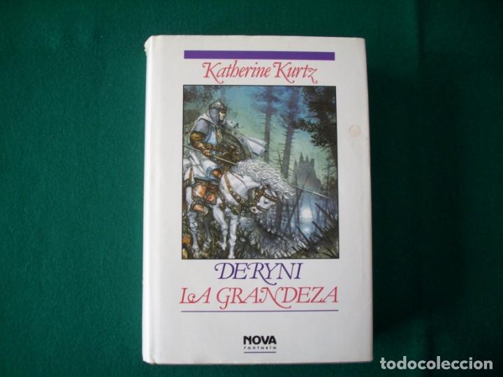 Libros de segunda mano: DERYNI - EL RESURGIR - JAQUE MATE - LA GRANDEZA - KATHERINE KURTZ - NOVA FANTASÍA - EDICIONES B.1991 - Foto 21 - 110733071