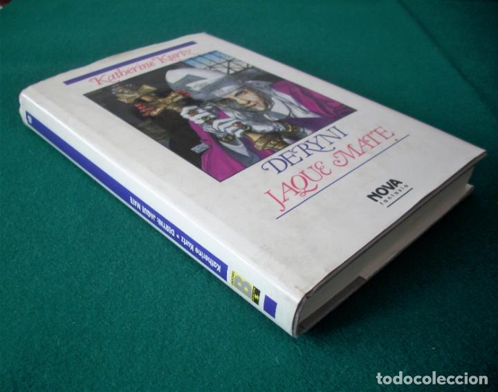 Libros de segunda mano: DERYNI - EL RESURGIR - JAQUE MATE - LA GRANDEZA - KATHERINE KURTZ - NOVA FANTASÍA - EDICIONES B.1991 - Foto 13 - 110733071