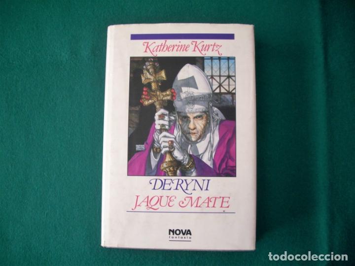 Libros de segunda mano: DERYNI - EL RESURGIR - JAQUE MATE - LA GRANDEZA - KATHERINE KURTZ - NOVA FANTASÍA - EDICIONES B.1991 - Foto 14 - 110733071