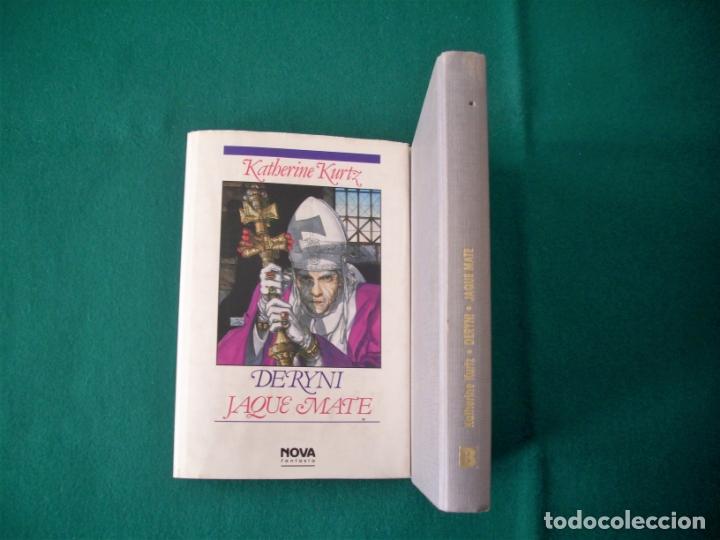 Libros de segunda mano: DERYNI - EL RESURGIR - JAQUE MATE - LA GRANDEZA - KATHERINE KURTZ - NOVA FANTASÍA - EDICIONES B.1991 - Foto 12 - 110733071