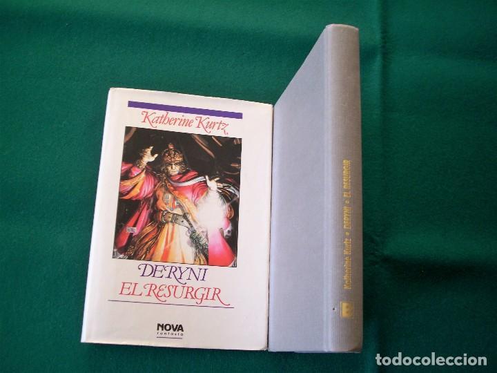 Libros de segunda mano: DERYNI - EL RESURGIR - JAQUE MATE - LA GRANDEZA - KATHERINE KURTZ - NOVA FANTASÍA - EDICIONES B.1991 - Foto 5 - 110733071