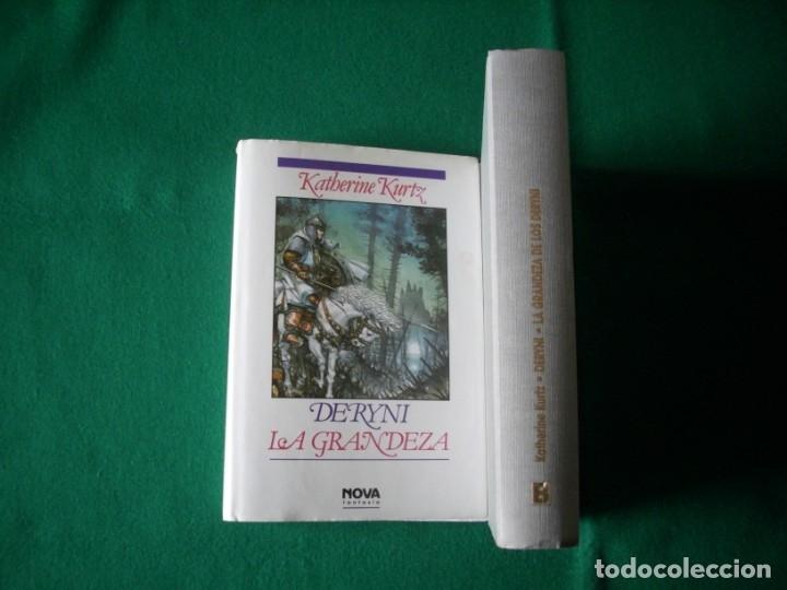 Libros de segunda mano: DERYNI - EL RESURGIR - JAQUE MATE - LA GRANDEZA - KATHERINE KURTZ - NOVA FANTASÍA - EDICIONES B.1991 - Foto 19 - 110733071