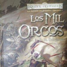 Libros de segunda mano: LOS MIL ORCOS. Lote 166778577
