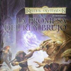 Libros de segunda mano: PROMESA DEL REY BRUJO. Lote 166780060