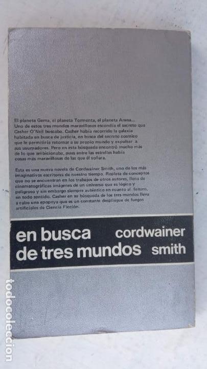 Libros de segunda mano: NEBULAE 2ª Nº 10 - A - CORDWAINER SMITH - EN BUSCA DE TRES MUNDOS - EDHASA 1977 - CAJA 11 - Foto 2 - 167064328
