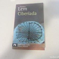 Libros de segunda mano: CIENCIA FICCION STANISLAW LEM CIBERIADA ALIANZA EDITORIAL. Lote 167570360