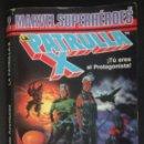 Libros de segunda mano: LA PATRULLA X: UNA MUERTE X-CELENTE - MARVEL SUPERHEROES ¡TU ERES EL PROTAGONISTA!, FORUM. Lote 167634192