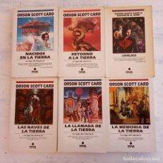 Libros de segunda mano: NOVA SCOTT CARD - 2,4,5,6,7,8 - LA SAGA DEL RETORNO 1,2,3,4,5 - LOVELOC - . Lote 167879632