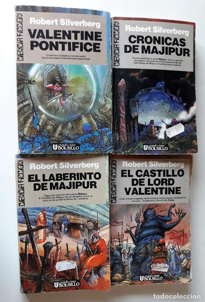 ROBERT SILVERBERG: CRÓNICAS DE MAJIPUR 4 TOMOS - OBRA COMPLETA (Libros de Segunda Mano (posteriores a 1936) - Literatura - Narrativa - Ciencia Ficción y Fantasía)