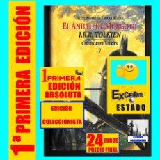 Libros de segunda mano: EL ANILLO DE MORGOTH - HISTORIA DE LA TIERRA MEDIA J.R.R. CHRISTOPHER TOLKIEN - MINOTAURO 1ª EDICIÓN. Lote 167678276