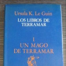 Libros de segunda mano: I UN MAGO DE TERRAMAR LOS LIBROS DE TERRAMAR URSULA K. LE GUIN MINOTAURO. Lote 168370570