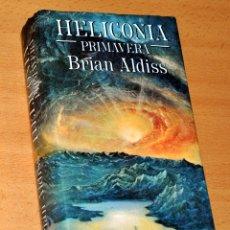 Libros de segunda mano: HELICONIA: PRIMAVERA - DE BRIAN ALDISS - EDITA MINOTAURO - 1ª EDICIÓN FEBRERO 1986.. Lote 169007680