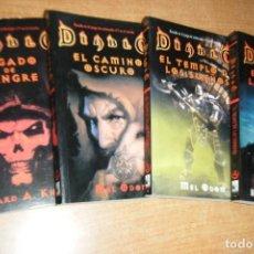 Libros de segunda mano: DIABLO COMPLETA LEGADO DE SANGRE EL CAMINO OSCURO TEMPLO LOS SUEÑOS REINO LAS SOMBRAS FACTORIA KNAAK. Lote 169060420