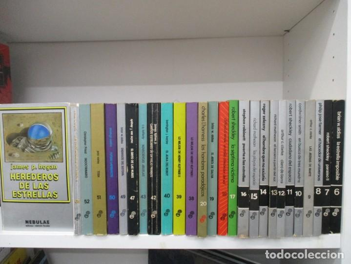 COLECCION NEBULAE - 27 LIBROS -MAESTROS DE LA CIENCIA FICCION Y FANTASIA- EDHASA (Libros de Segunda Mano (posteriores a 1936) - Literatura - Narrativa - Ciencia Ficción y Fantasía)