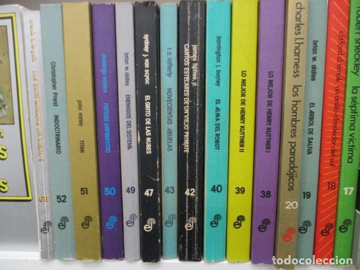 Libros de segunda mano: COLECCION NEBULAE - 27 LIBROS -MAESTROS DE LA CIENCIA FICCION Y FANTASIA- EDHASA - Foto 3 - 169316032