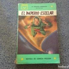 Libros de segunda mano: EL IMPERIO ESTELAR. LA GALAXIA ATRAPADA Nº11 POR HECTOR PARL. EDICIONES CENIT 1961. Lote 169434048