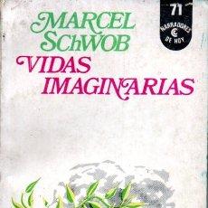 Libros de segunda mano: MARCEL SCHWOB : VIDAS IMAGINARIAS (CENTRO EDITOR DE AMÉRICA LATINA, 1973). Lote 169671480