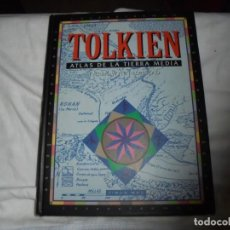 Libros de segunda mano: TOLKIEN ATLAS DE LA TIERRA MEDIA.KAREN WYNN FONSTAD.TIMUN MAS 1993. Lote 169831548