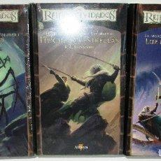 Libros de segunda mano: REINOS OLVIDADOS, EL LEGADO DEL DROW, 3 VOL.I-II-IV, R.A. SALVATORE. Lote 170366417