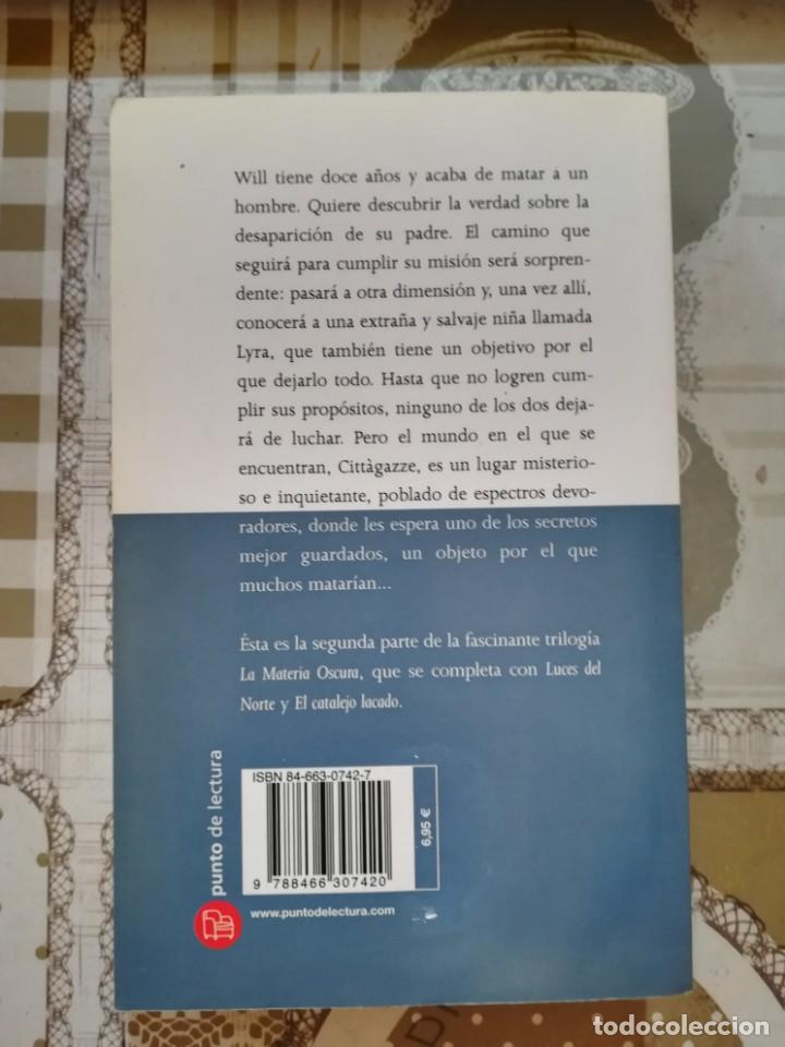 Libros de segunda mano: La materia oscura. La daga - Philip Pullman - Foto 2 - 171133560