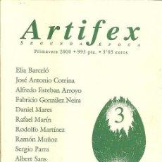 Libros de segunda mano: ARTIFEX SEGUNDA EPOCA 3 - ANTOLOGIA DE LITERATURA FANTASTICA . Lote 171136369