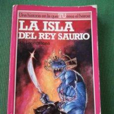 Libros de segunda mano: LA ISLA DEL REY SAURIO LUCHA FICCIÓN Nº 7 LIBRO JUEGO ALTEA JUNIOR. Lote 171273772