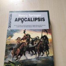 Libros de segunda mano: APOCALIPSIS - NANCY SPRINGER. ULTRAMAR. Lote 171440653