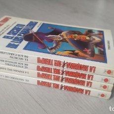 Libros de segunda mano: TIMUN MAS - LA MÁQUINA DEL TIEMPO - LOTE 5 NÚMEROS (1 2 3 7 8). Lote 171810535