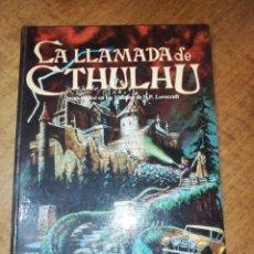 Libros de segunda mano: SANDY PETERSEN, LA LLAMADA DE CTHULHU, JUEGO DE ROL EN LOS MUNDOS DE Y. P. LOVECRAFT . Lote 172033833